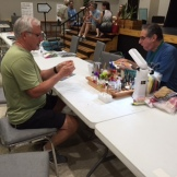 Barry Sandler fly tying demonstration