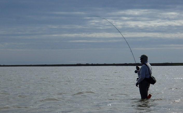 Wade fly fishing gear for the salt texas flyfishers of for Saltwater wade fishing gear