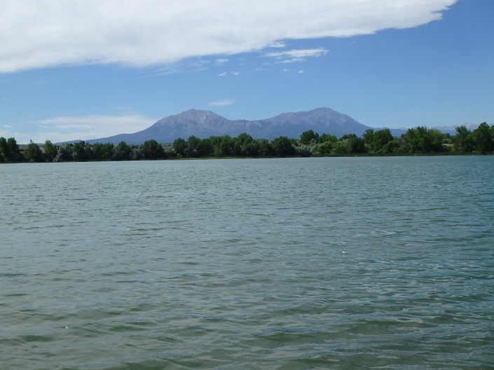 The view across the water at Lathrop State Park