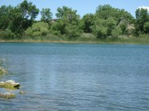 Shallow water at Lathrop State Park