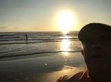 Sunrise on my shoulder