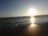 Sunrise on hopeful anglers