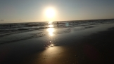 Sunrise on hopeful anglers 2