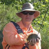 Rio grand perch comes to hand on the first day