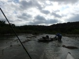 Getting ready for the fast water