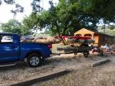 Trailer loaded and ready to go.