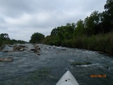 Fast water with plenty of rocks 2.