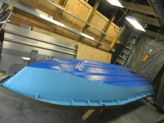 Texas poling skiff 1